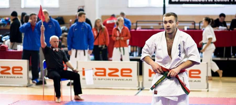 Kamil Gutowski wygrał swoją walkę, ale kontuzja nie pozwoliła mu na dalsze występy