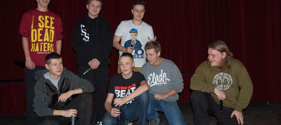 Zajęcia z beatbox'u odbywały się w ferie