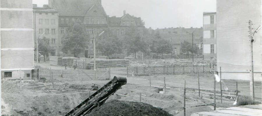 Olsztyn (Małeckiego-Jagiellońska) w 1964 roku.