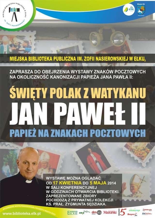 Papież na znakach pocztowych  - full image