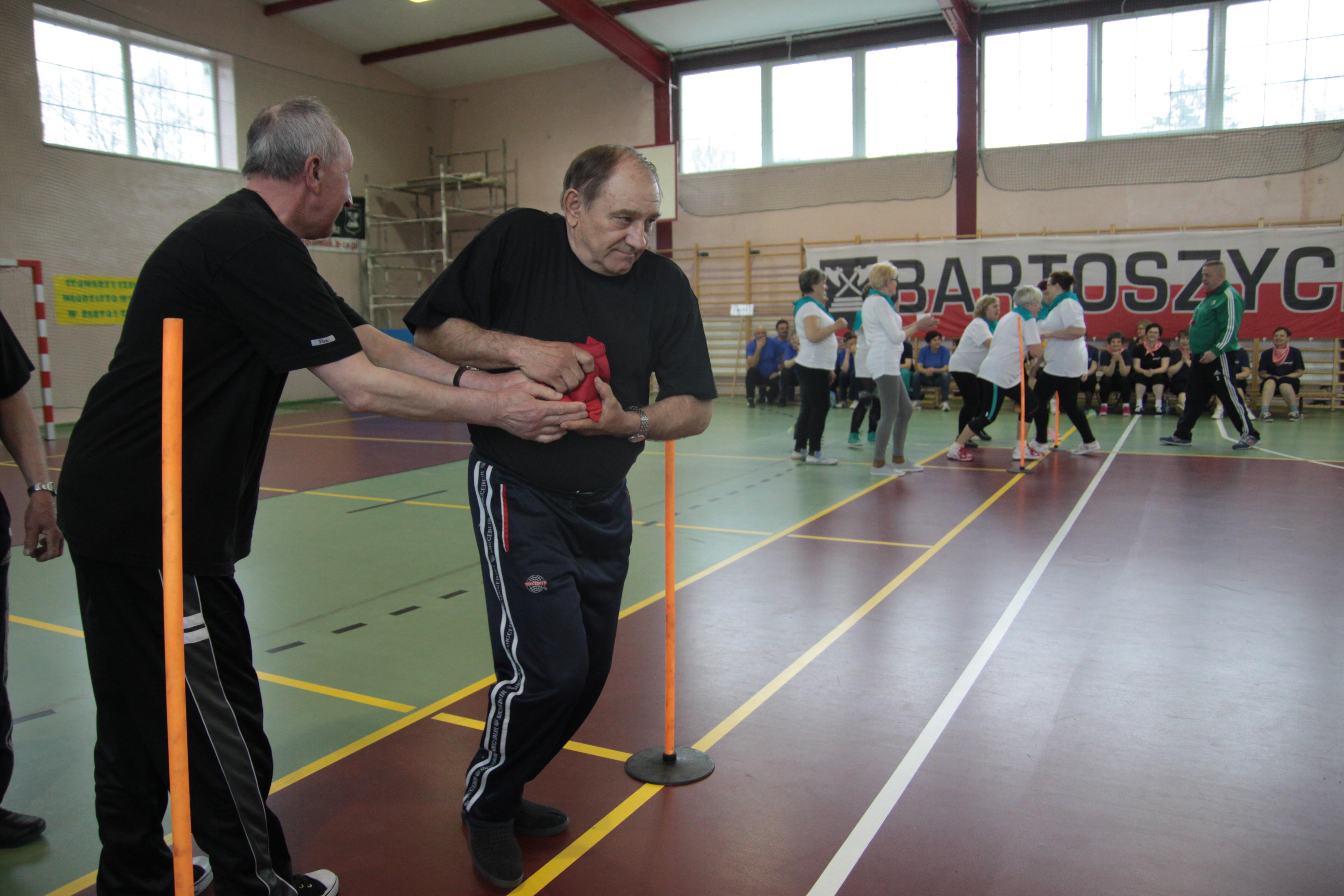 Ubiegłoroczna olimpiada seniorów w Bartoszycach