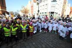 Dzisiaj Stare Miasto opanowały przedszkolaki