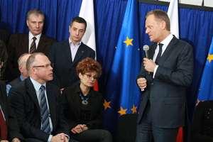 Krótki film z wizyty premiera w Bartoszycach