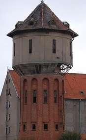 Wieża ciśnień w Lidzbarku Warmińskim