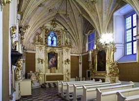 Zabytkowa kaplica p.w. św. Katarzyny