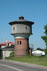 Kolejowa wieża ciśnień w Ostródzie