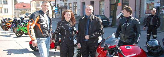 Motocykliści przywitali wiosnę