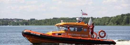 MOPR dba o bezpieczeństwo na mazurskich jeziorach