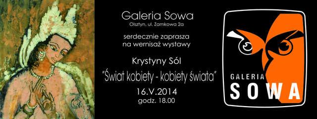 Wystawa malarstwa Krystyny Sól w Galerii Sowa - full image
