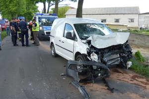 Wypadek na drodze z Byszwałdu do Kazanic