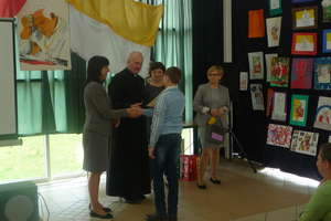 Mrągowski ZSS uczcił kanonizację Jana Pawła II