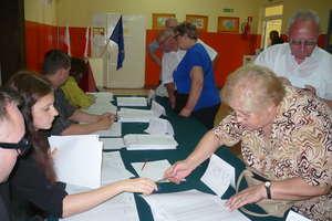 Mieszkańcy wybierali europarlamentarzystów