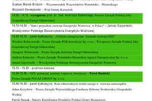 I Kongres Energetyczny w Nielbarku