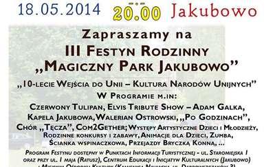 Magiczny Park Jakubowo zaprasza na festyn
