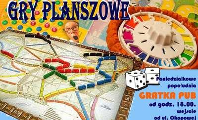 Zagraj w planszówkę w Gratka Pub!