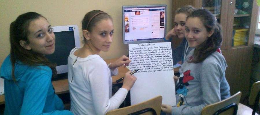 Uczniowie mocno zaangażowali się w prowadzone w szkole działania