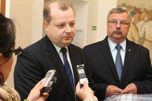 Nowy konsul generalny RP w Kaliningradzie z wizytą w Olsztynie
