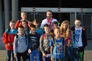 Dzieci z gminy Braniewo kibicowały reprezentacji