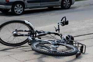 Tragiczny wypadek pod Wilczętami. Potrącony rowerzysta zmarł na miejscu