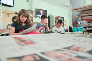 Drukarnia, kolegium i łamanie, czyli gimnazjaliści w redakcji
