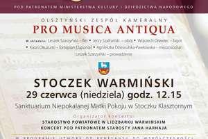 Koncert Pro Musica Antiqiua