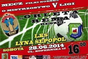 Mecz Piłki Nożnej o Mistrzostwo V Ligi