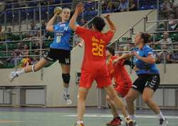 Mecz Start Elbląg- reprezentacja Chin