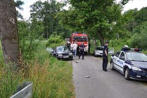 Pijany kierowca spowodował wypadek. Trzy osoby w szpitalu