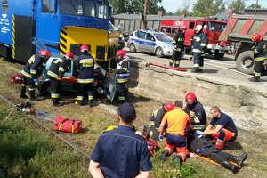 Wypadek na torach, czyli wspólne ćwiczenia służb
