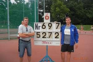 Tomek zdobył srebro i brąz podczas Olimpady we Wrocławiu