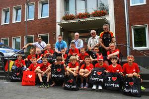 Młodzi piłkarze wrócili z Herten