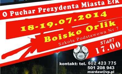 VI Nocny Turniej Piłki Nożnej w Ełku