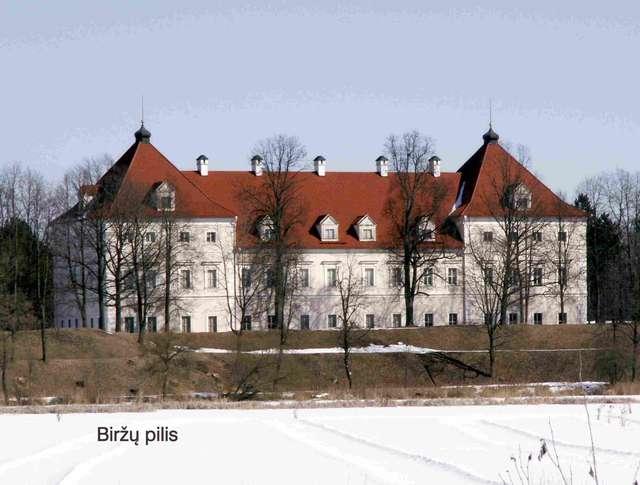 Pałac Radziwiłów w Birżach - full image