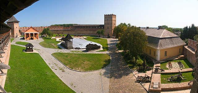 Zamek Lubarta w Łucku - full image