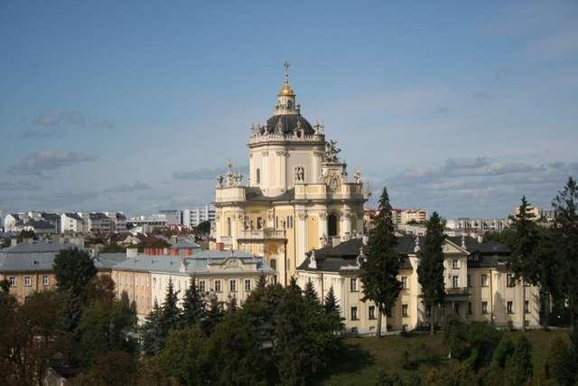 Sobór (katedra) św. Jura we Lwowie - full image