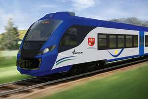 13 milionów na nowy pociąg dla Warmii i Mazur