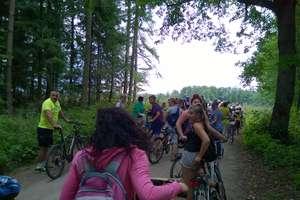 Rowerowy rajd leśnymi ścieżkami