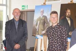 Adam Chmielewski z Ostródy najlepiej namalował twórcę Kanału Ostródzko-Elbląskiego