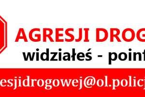 KWP: Stop agresji drogowej na Warmii i Mazurach