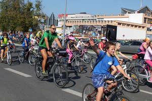 Rowerzyści przejechali przez miasto
