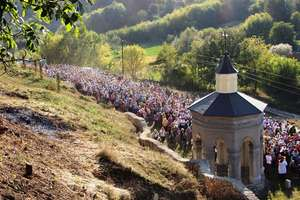 Relikwie św. Jana Pawła II dla parafii w Szarogrodzie