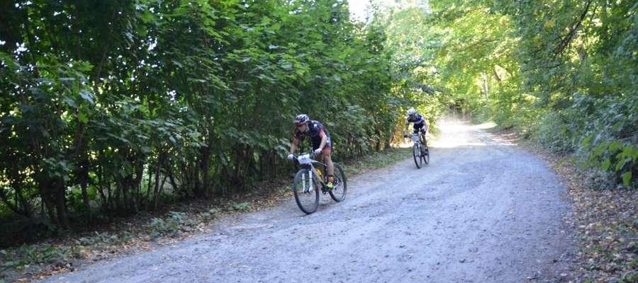 W lasach Nadleśnictwa Elbląg gościliśmy wielu znakomitych rowerzystów górskich
