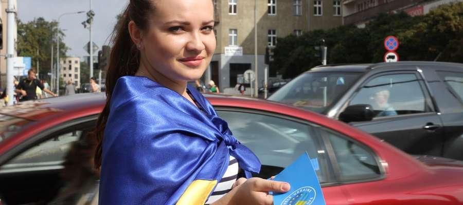 Kateryna Klymchuk studiuje prawo międzynarodowe w Kijowie