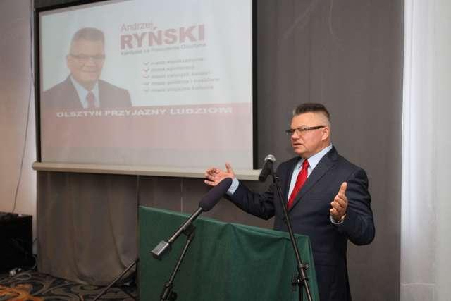 Andrzej Ryński, kandydat na prezydenta Olsztyna - full image