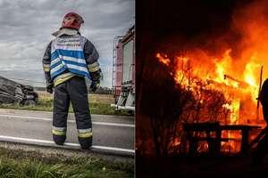 W strażackim obiektywie