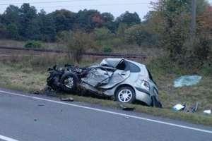Tragiczny wypadek pod Iławą. Nie żyją dwie osoby