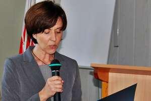 Małgorzata Mucha ubiega się o stanowisko burmistrza