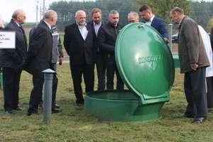 Uroczyste zakończenie budowy oczyszczalni w Kazanicach