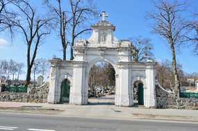 Cmentarz parafialny  w Nowym Mieście Lubawskim