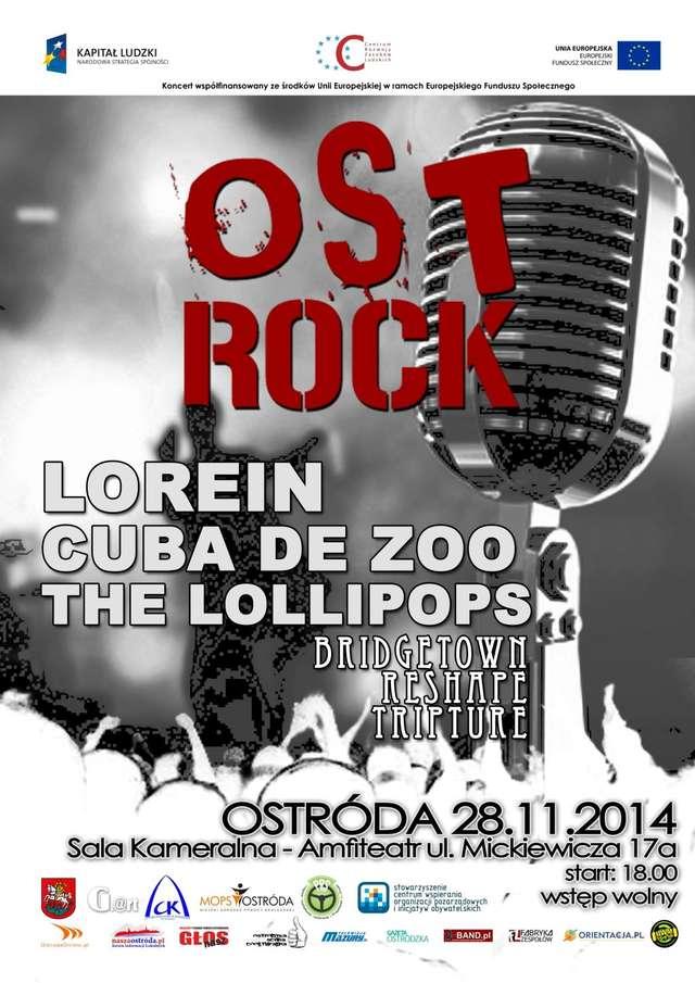 Ost-Rock UndergroundFest. Na scenie LOREIN, THE LOLLIPOS i CUBA DE ZOO - full image